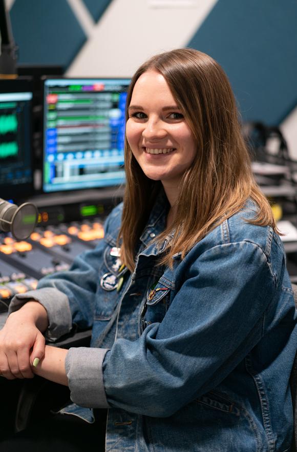 Leigh Garcia On-Air